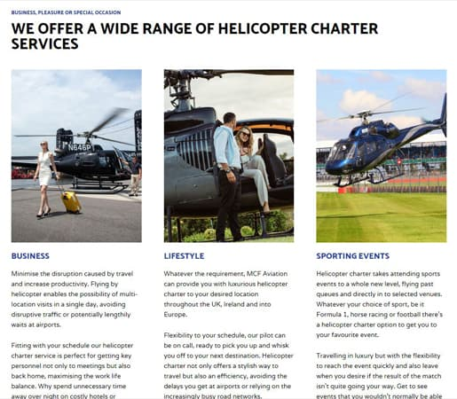 mcf aviation helicopter charter services 515 x 450