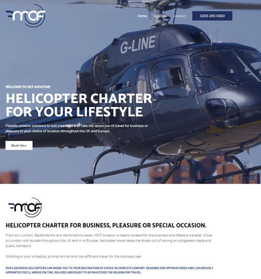 mcf aviation website by amagence 515 x 550